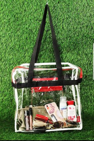 Clear stadium purse/tote for Sale in Lakeville, MN