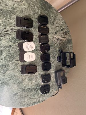 GoPro hero 5 black with tons of mounts and original box for Sale in San Jose, CA