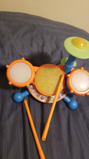 V Tech Kidi Beats Drum Set for Sale in Everett, WA