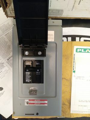 HOT TUB PANEL 50 AMP for Sale in Kennewick, WA