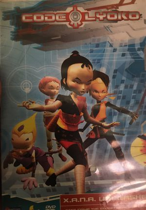 CODE LYOKO DVD for Sale in Dinuba, CA