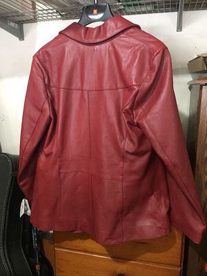 Leather jacket - new for Sale in Ashburn, VA
