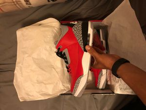 Jordan 3 Red Cement Size 12 for Sale in Kingsburg, CA
