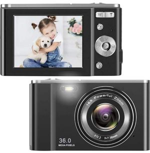 HD Digital Camera, 1080P Vlogging LCD Mini Camera with 16X Zoom 36MP Digital Point and Shoot Camera Video Camera for Sale in Rancho Cucamonga, CA