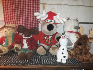 6 Xmas Stuffed Animals for Sale in Chicago, IL
