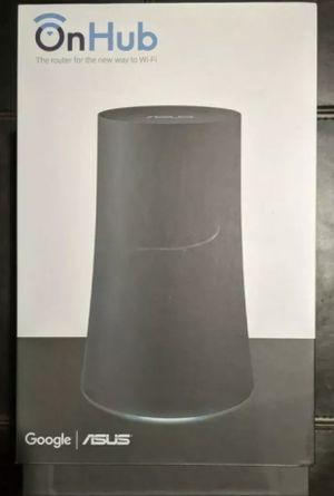 Google Onhub On hub WiFi Router ASUS SRT-AC1900 AC1900 Black for Sale in Everett, WA