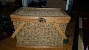 Picnic basket for Sale in Fairfax, VA