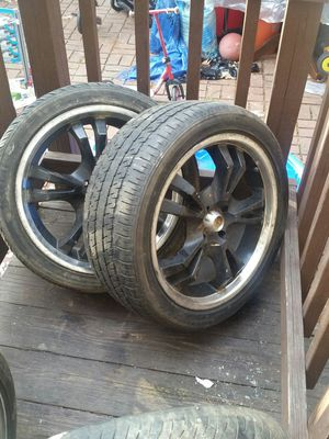 4 tires and rims 4 lug for Sale in Springfield, VA