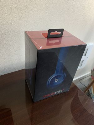 Beats Solo2 Wired Headphones (New, Unopened) for Sale in Seattle, WA