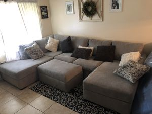 Sectional couch for Sale in Lake Worth, FL