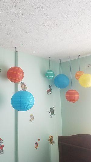 Color paper balloons for Sale in Hampton, VA