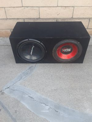 12 inch subs for Sale in Santa Ana, CA