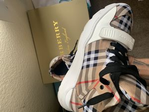 Burberry sneakers for Sale in Las Vegas, NV