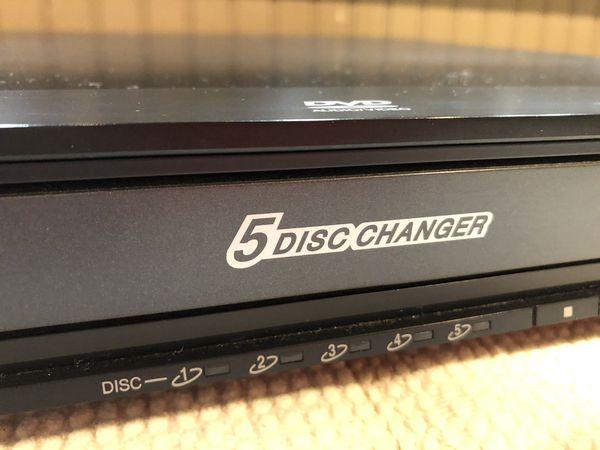 Panasonic 5Disc DVD/CD player