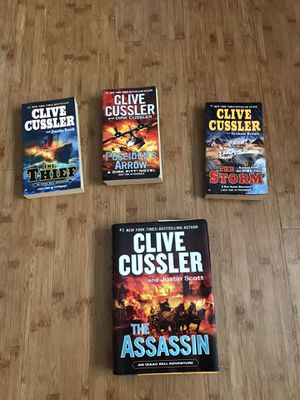 Clive Cussler Books for Sale in Chula Vista, CA