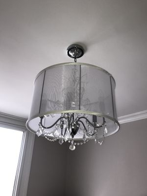 Silver chandelier for Sale in Hoboken, NJ