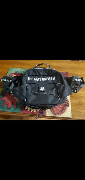 Aape by Bathing Ape limited edition waist/shoulder bag for Sale in Normandy Park, WA