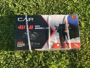 20lb Adjustable Dumbbell Weight Set (40lb in all) for Sale in Eastvale, CA