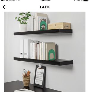 IKEA Lack Wall Shelves x 11 for Sale in Maple Valley, WA