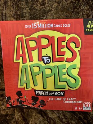 Apples to Apples Game for Sale in McLoud, OK