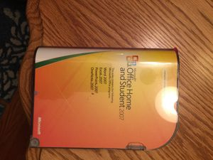 New Microsoft office home and student 2007 for Sale in Lansing, MI