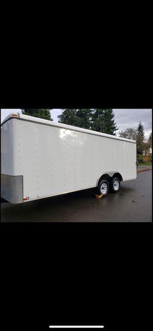 8.5x20 Enclosed Trailer/ Car Hauler for Sale in Kent, WA