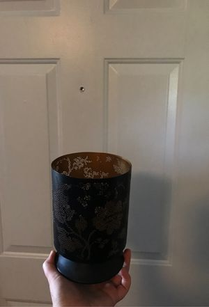 Black and Gold candle holder for Sale in Westminster, CO