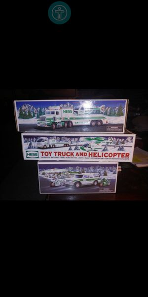 $15 each Box.... Hess Gasoline 3 new collector 1995-- boxes Of equipment for Sale in Fresno, CA