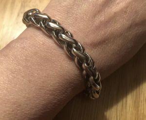 Stunning stainless steel bracelet for Sale in Sanford, FL