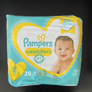 BRAND NEW SIZE 2 DIAPERS NEVER OPENED OR USED $7 IN HAND READY FOR PICK UP!! for Sale in Anaheim, CA