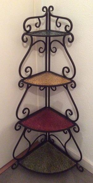 Metal Folding Corner Shelf for Sale in Austin, TX