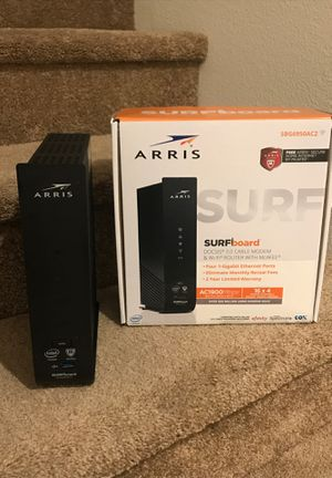 Arris surfboard 1900mbps modem plus router for Sale in Chula Vista, CA