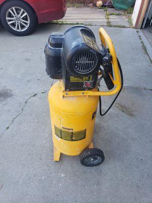 Dewalt air compressor for Sale in Manteca, CA