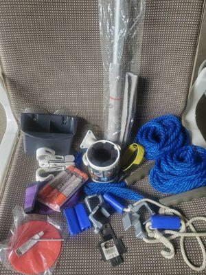 Boat accessories, cover pole, docking lines, etc. for Sale in Murfreesboro, TN