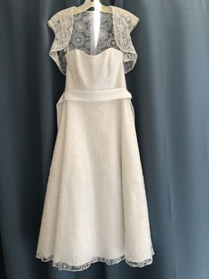 White Wedding Dress NWT, size 6 for Sale in Fort Lauderdale, FL