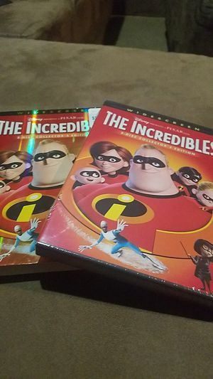 THE INCREDIBLES 2-DISK COLLECTORS EDITION! for Sale in Fairfax, VA