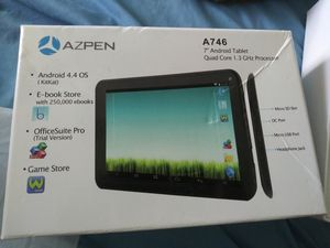 AZPEN 7' Tablet. (New) #A746 for Sale in Madison Heights, MI