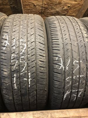 4 used tires brimstone 215 /55.17 for Sale in Portland, OR