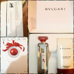 BVLGARI PERFUME SET SO YUMMY TRUST ME for Sale for sale  Brooklyn, NY