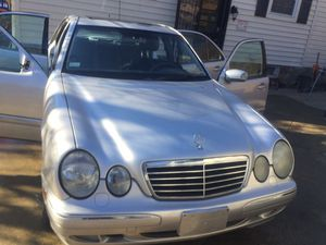 2002 Mercedes Benz E320 4matic silver 166,000 miles for Sale in Kensington, MD