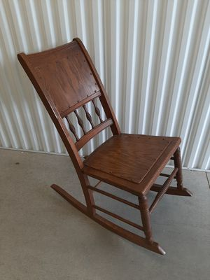 Kids wooden rocking chair for Sale in Chester, PA