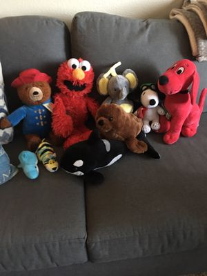stuffed animals talking elmo for Sale in El Cajon, CA