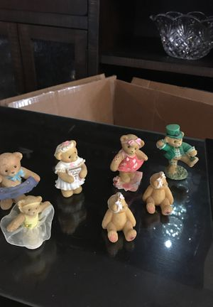 7 Cherished Teddy collection numbered pieces for Sale in Fort Worth, TX