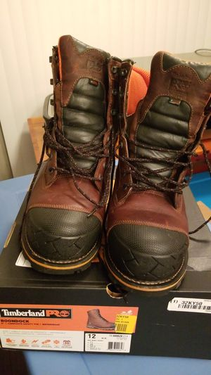 Rarely used work boots for Sale in Garrison, MD