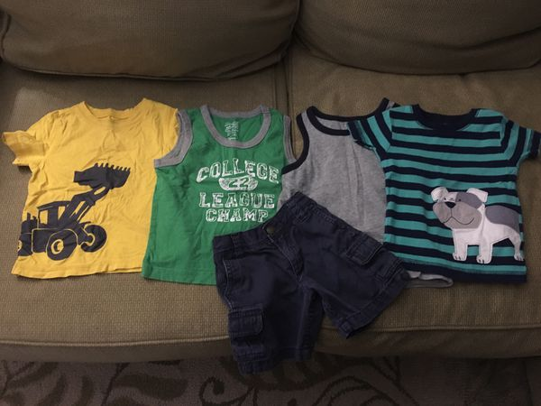 Boys 18 month clothes- lot of 13 items