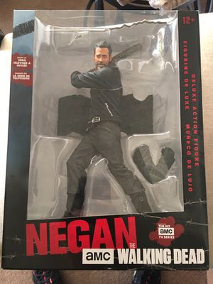 """""""The Walking Dead"""" Negan with Lucille McFarlane Deluxe Action Figure for Sale in Fresno, CA"""