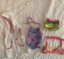 American Girl Doll Bathing Suits for Sale in La Habra,  CA