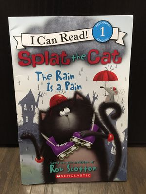 Splat The Cat The Rain Is a Pain Book for Sale in Winter Garden, FL