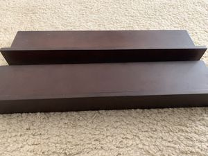 Brown floating wall shelves for Sale in Chino, CA