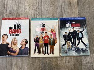 The Big Bang Theory Seasons 1,2 and 4 for Sale in Vancouver, WA